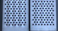 Aluminium plank som stillasgulv